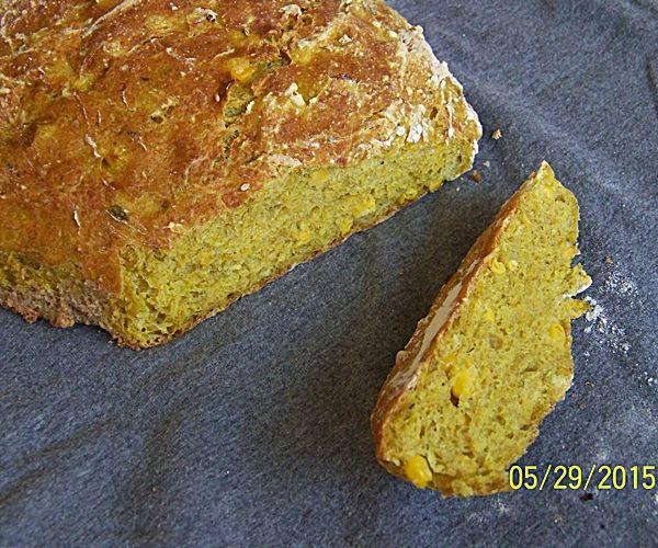 Żółty chleb kukurydziany