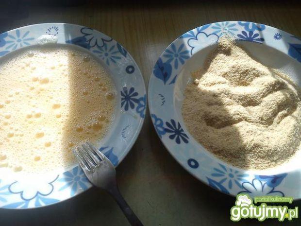 Zraziki z pieczarkami i serem