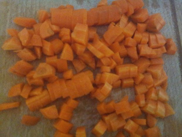 Zrazy nadziewane warzywami rzodkiewką grzybami.