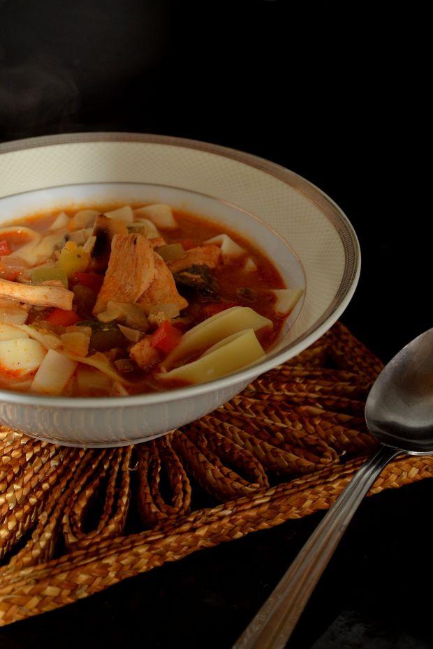 Zupa a'la strogonoff
