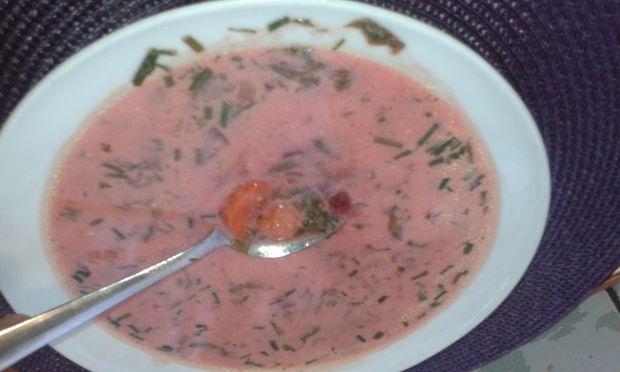 Zupa botwinkowo- szczawiowa