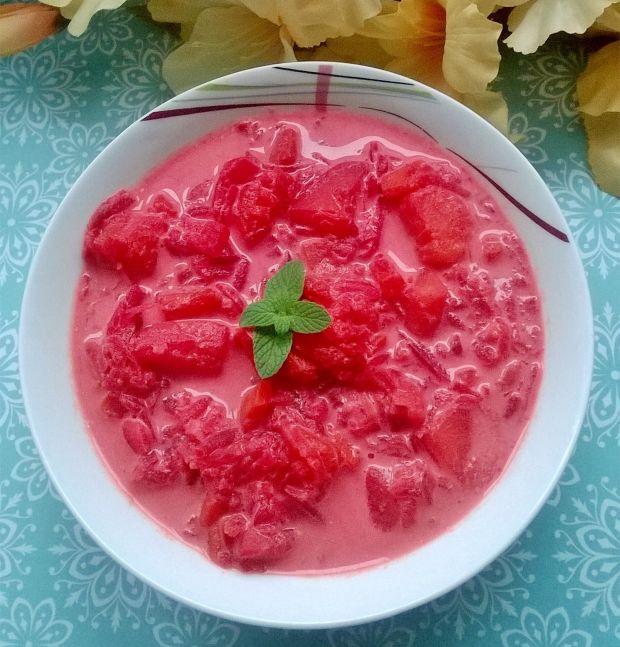 Zupa buraczkowa z pieczonych buraczków i dyni