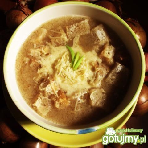 Zupa cebulowa wg Agiatis