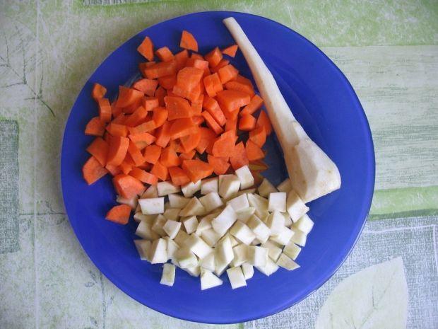Zupa cytrynowa z kurczakiem i ryżem