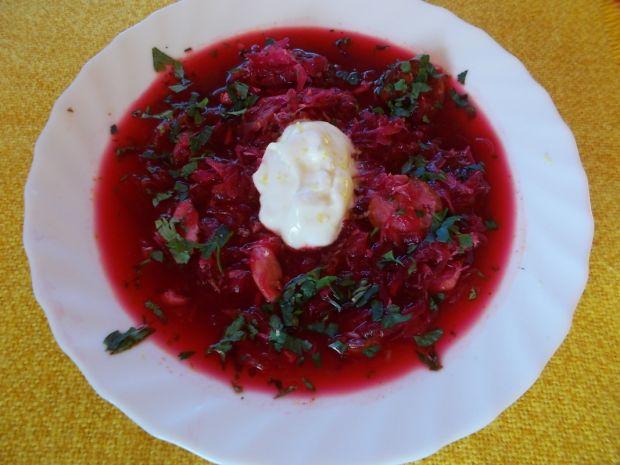Zupa - czerwone orzeźwienie
