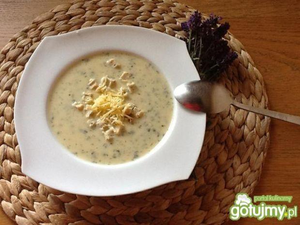 zupa czosnkowa kremowa