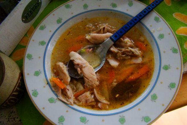 Zupa drobiowa z warzywami