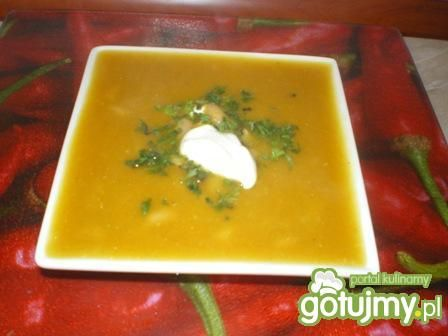 Zupa dyniowa marokańska