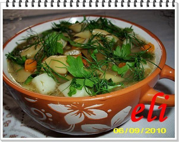 Zupa Eli z fasolki szparagowej