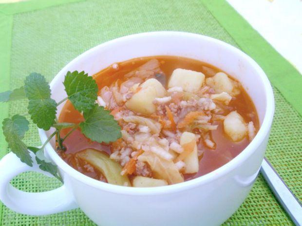 Zupa gołąbkowa Gosi