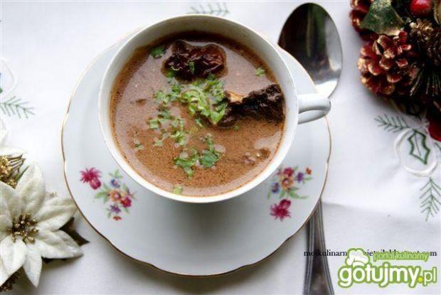 Zupa grzybowa kasztelańska