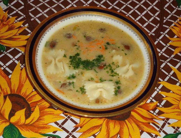 Zupa grzybowa leśna