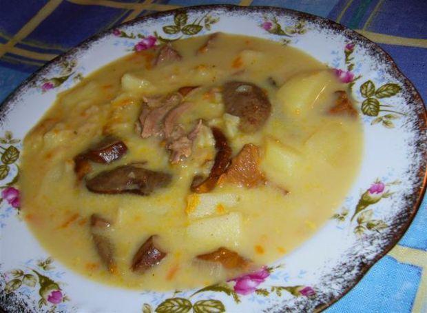 Zupa grzybowa po wiejsku