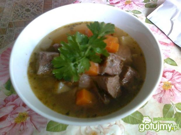 Zupa gulaszowa wg Kasi