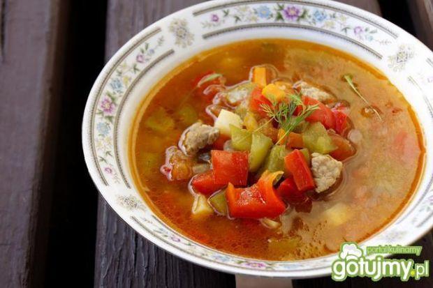 Zupa gulaszowa wg Mileny