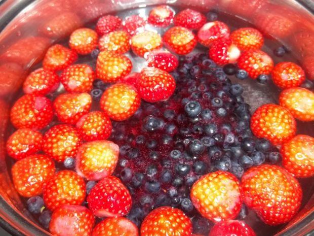 Zupa jagodowo - truskawkowa