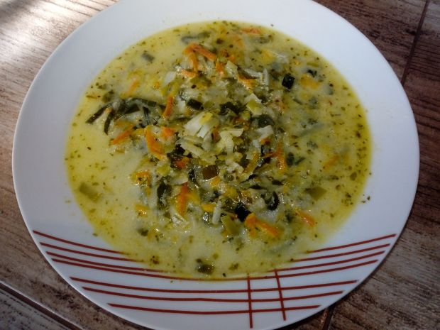 Zupa jarzynowa na maśle