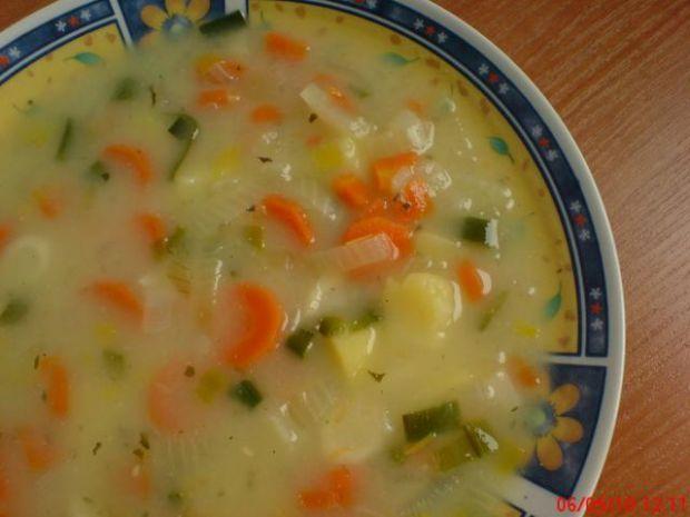 Zupa jarzynowa wegetariańska