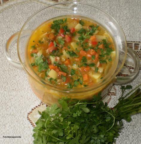 Zupa jarzynowa wg Babci Basi: