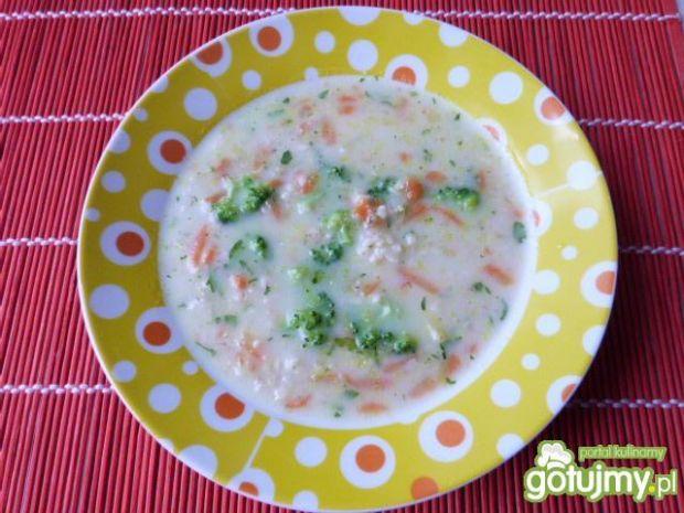 Zupa jarzynowa z kaszą jęczmienną 2