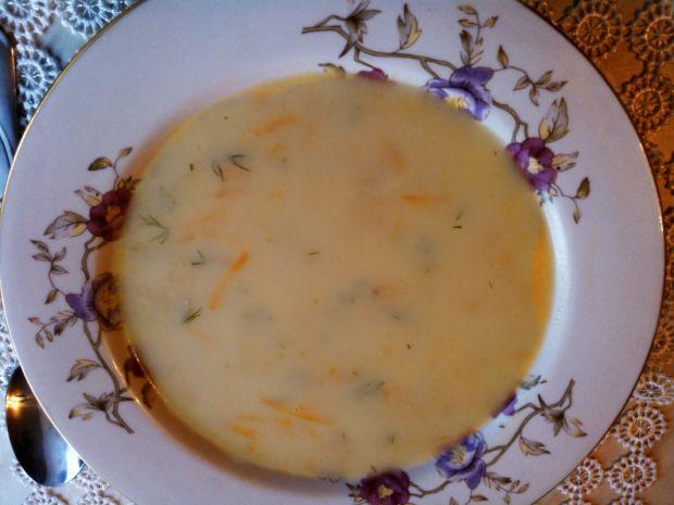 Zupa jarzynowa z lanymi kluskami
