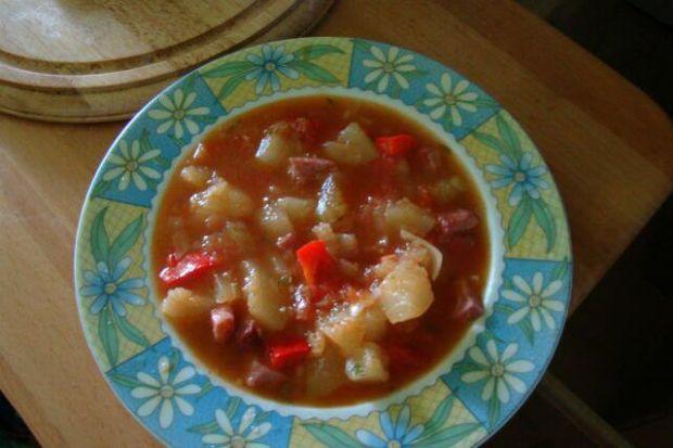 Zupa Kabaczkowa z papryka