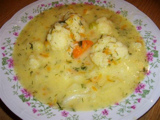 Zupa kalafiorowa bez mięsa