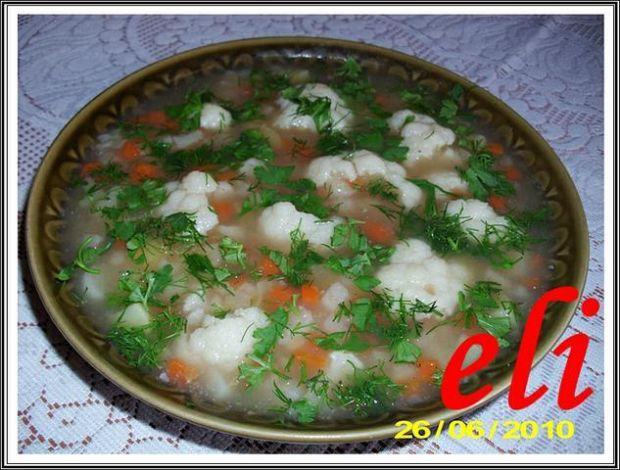 Zupa kalafiorowa Eli