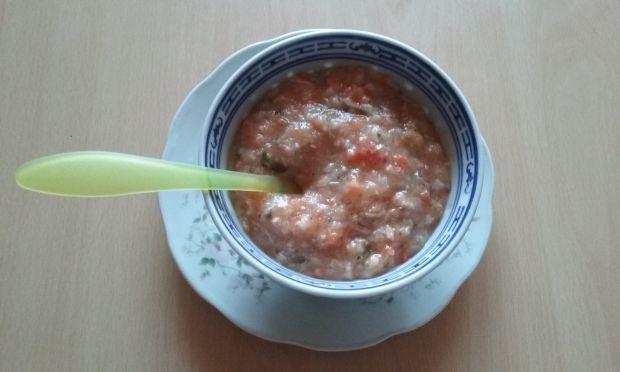 Zupa kalafiorowa na króliku z grysikiem