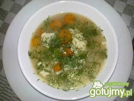 Zupa kalafiorowa na ostro.
