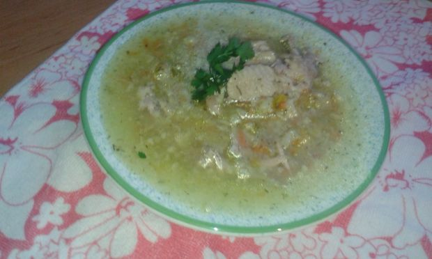 Zupa kalafiorowa z kaszą manną