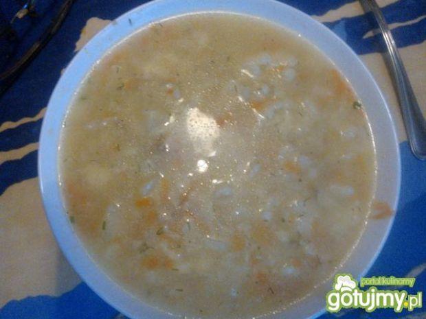 Zupa kalafiorowa z lanymi kluskami 3