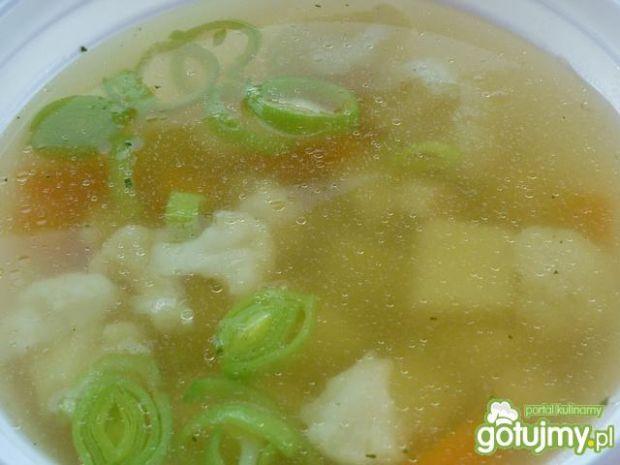 Zupa kalafiorowa z porem 2