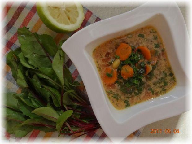 Zupa kalarepkowo - botwinkowa