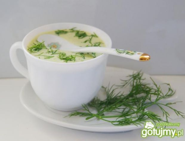 Zupa krem kalarepkowy :