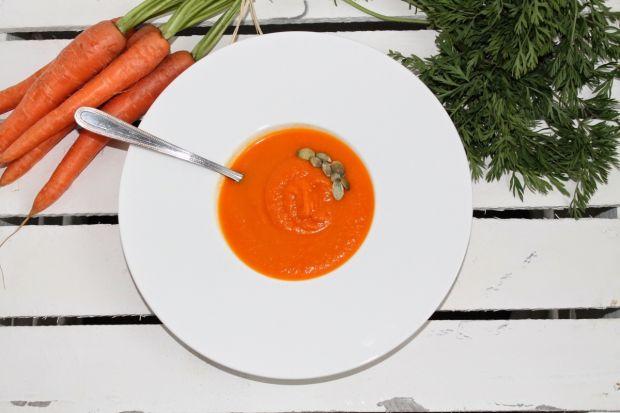 Zupa krem marchewko-imbirowa