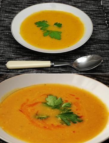 Zupa Krem Marchwiowo - Imbirowa