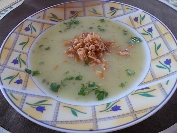 Zupa  krem na lubczyku