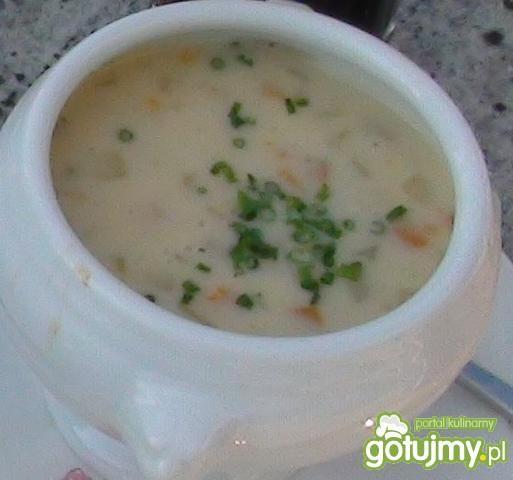 Zupa krem-pieczarkowa