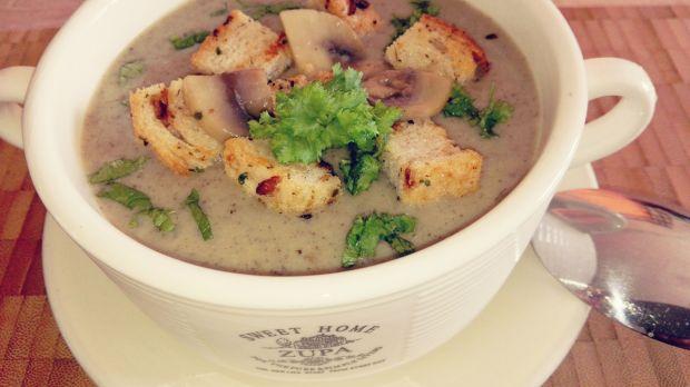 Zupa-krem pieczarkowa