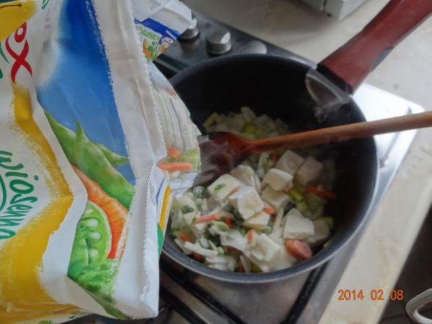 Zupa krem warzywno-musztardowa