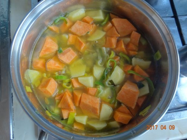 Zupa krem z batatami