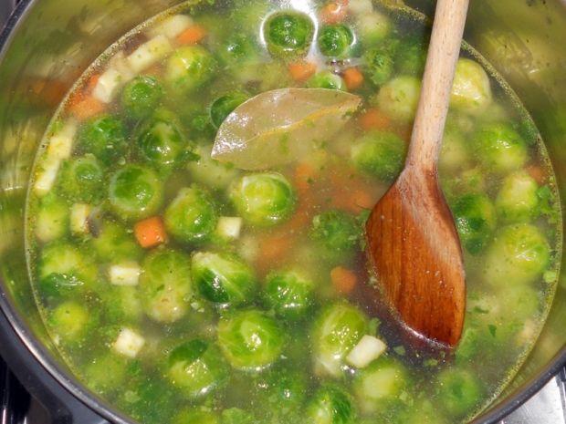 Zupa krem z brukselki