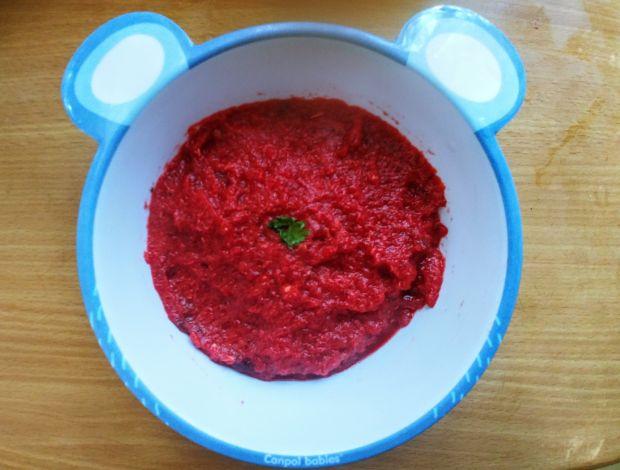 Zupa - krem z buraka (dla dziecka)