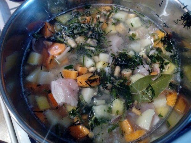 Zupa krem z cukinii dla dzieci