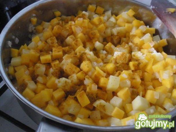 Zupa krem z dyni z curry