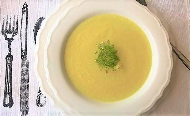 Zupa krem z fenkuła - kopru włoskiego