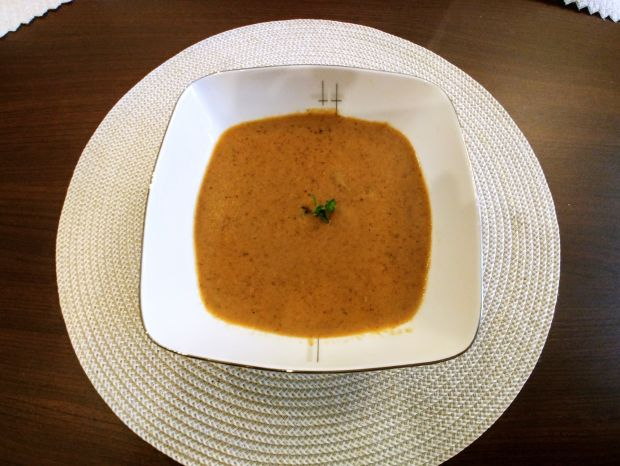 Zupa - krem z grzybów leśnych