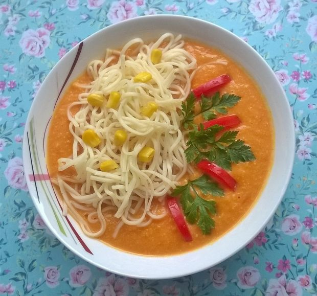 Zupa krem z jesiennych warzyw
