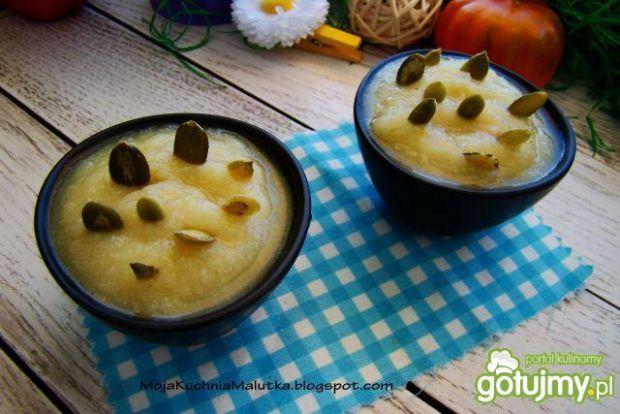 Zupa krem z kalafiora z pestkami dyni